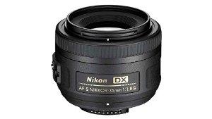 Nikon AF-S DX NIKKOR 35mm f/1.8G Lens with Auto Focus for Nikon DSLR Cameras - Amazon $166.95