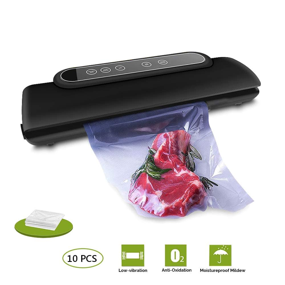 Vacuum Sealer Machine with 10 PCS Packing Bags Free $34.59