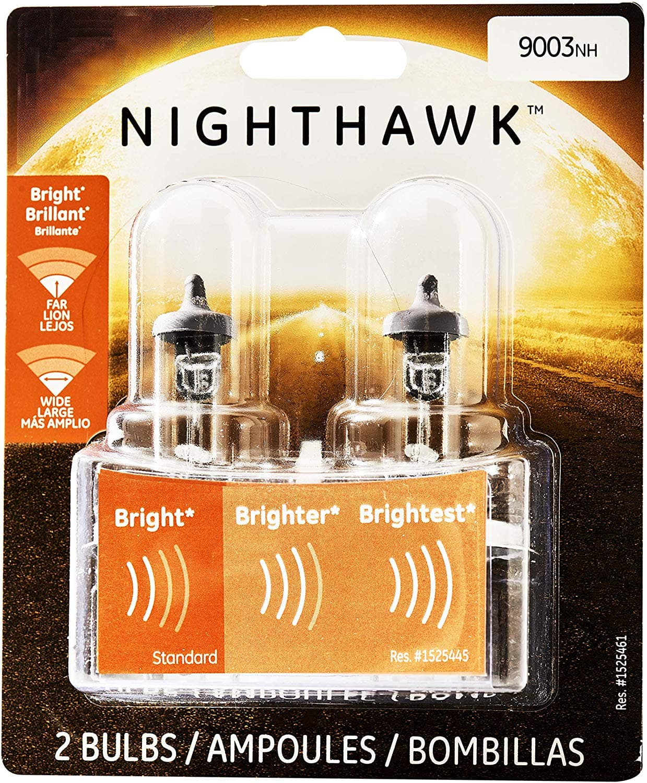 GE Lighting 9003NH/BP2 Nighthawk Halogen Replacement Bulb, 2-Pack-$5.82