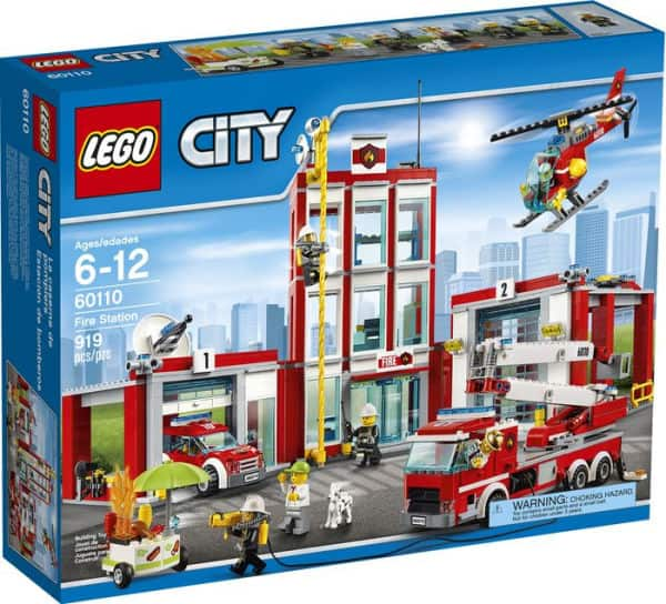 Lego City Fire Station 60110 at 50%off B&N In-store YMMV $49.99