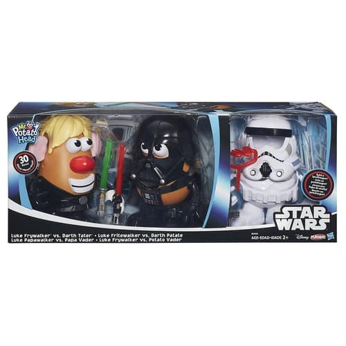 Star Wars Mr. Potato Head Darth Tater & Luke Frywalker Figure & Accessory Set by Playskool $22.49