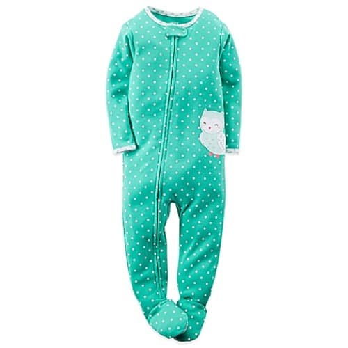 Carter's Size Footed Pajama - Girls $7.5