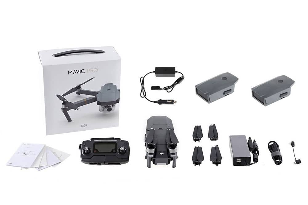 New DJI Mavic Pro Drone + Extra Battery + Car Charger Bundle for $999 + $100 Ebaybuck @ Ebay DJIofficiaslstore [YMMV]
