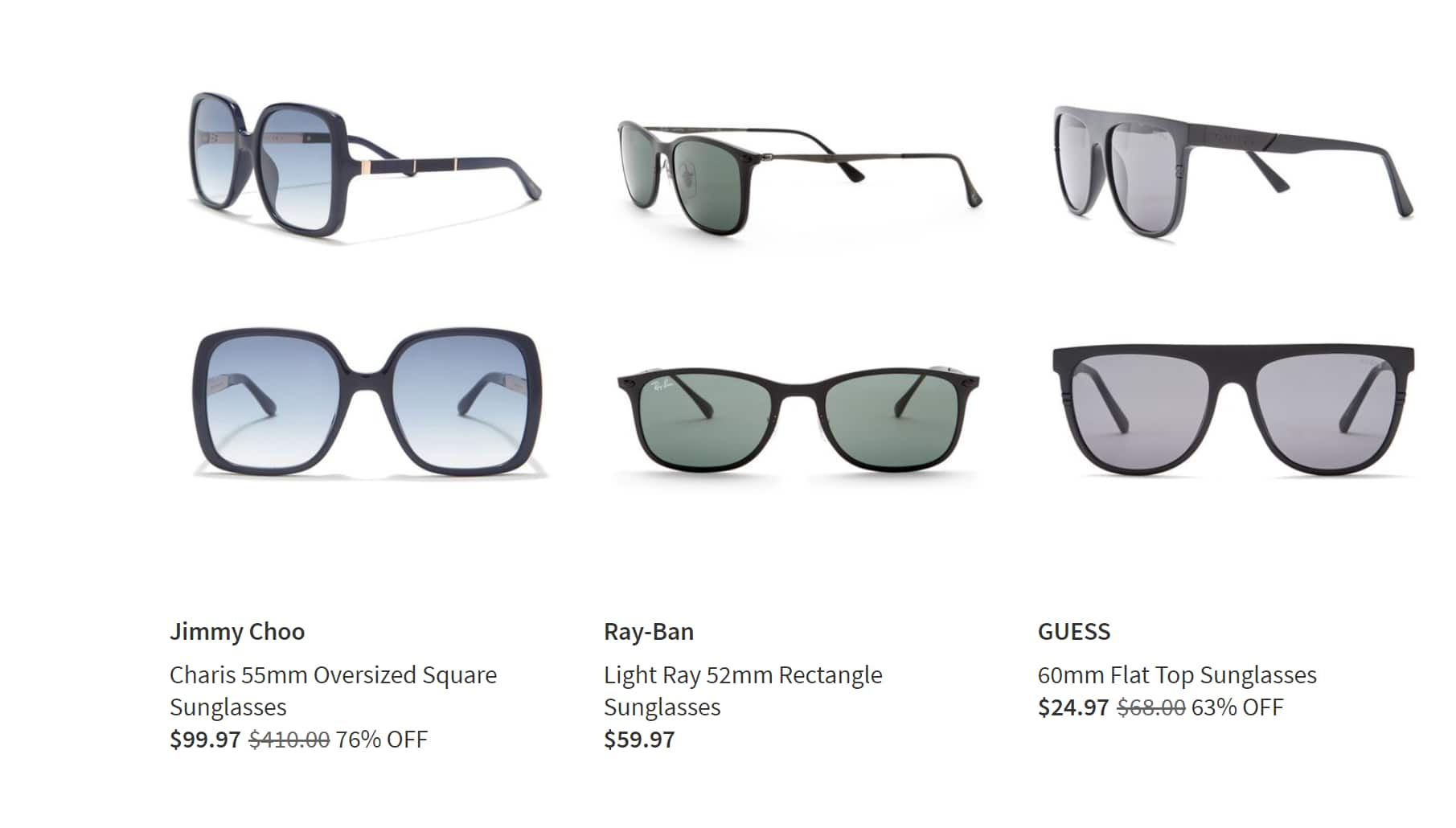 352031b31f1 Up to 75% off Designer Sunglasses - Gucci