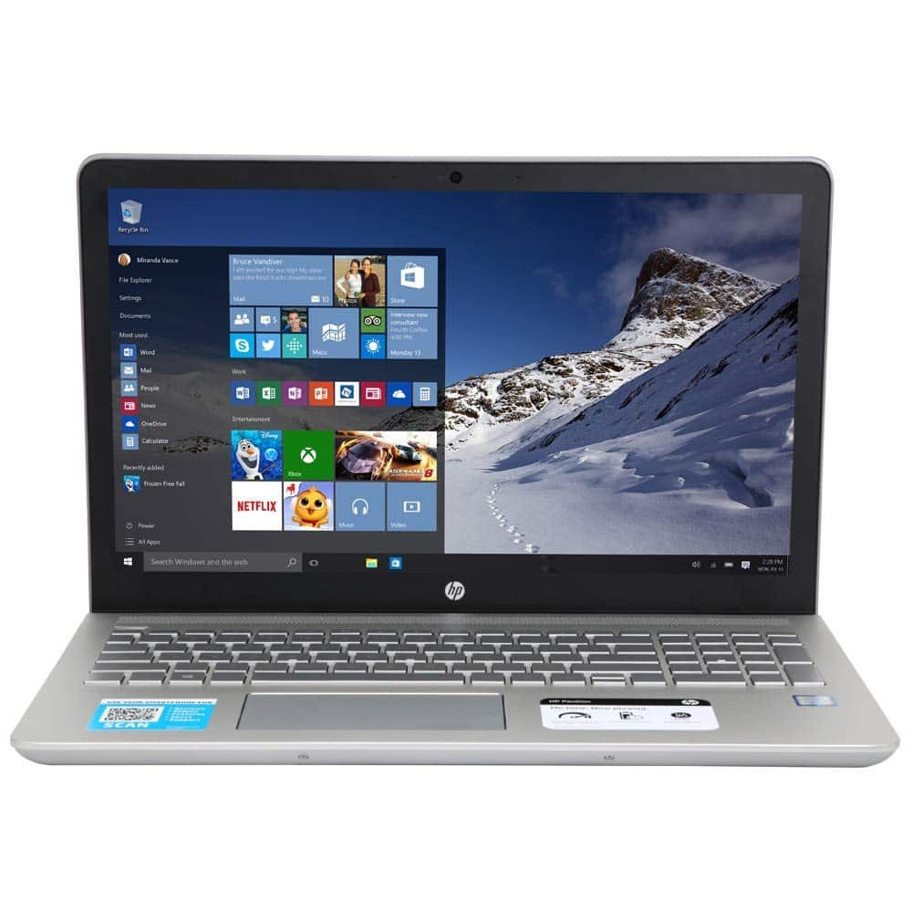 HP Pavilion 15-cc159nr;  i7-8550U; NVIDIA 940MX ; 16GB RAM; 512GB SSD $799