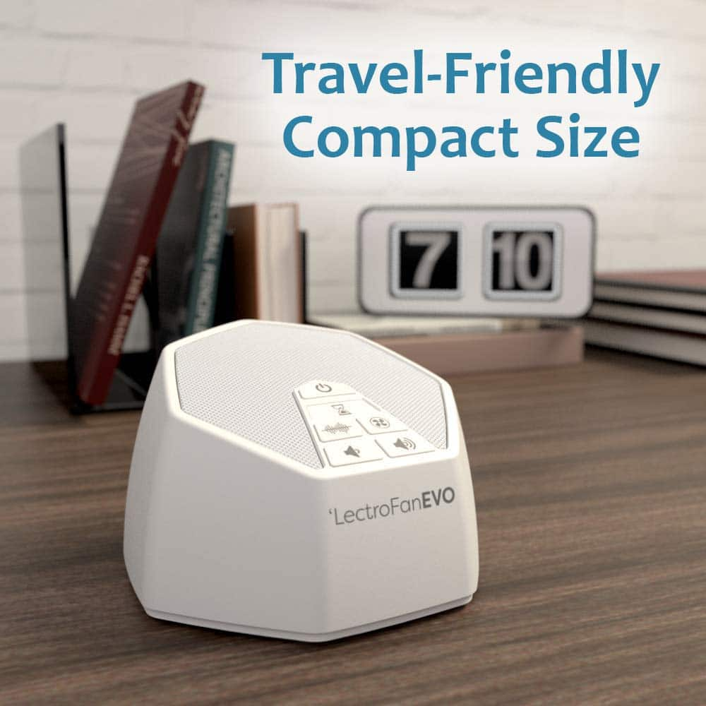 $29.80 w/prime - LectroFan Evo White Noise Sound Machine with 22 Unique Non-Looping Fan & White Noise Sounds & Sleep Timer