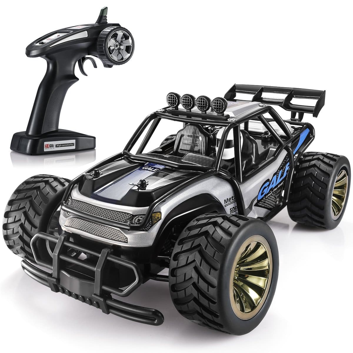 1:16 Large Remote Control Car, Black, $24.08 + FS