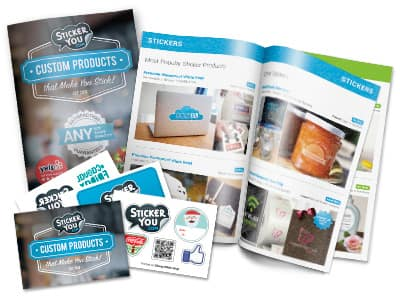 Sticker You FREE Stationary Product Sample Pack