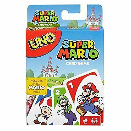 Uno - Mario, Minecraft, Zelda and more. $5