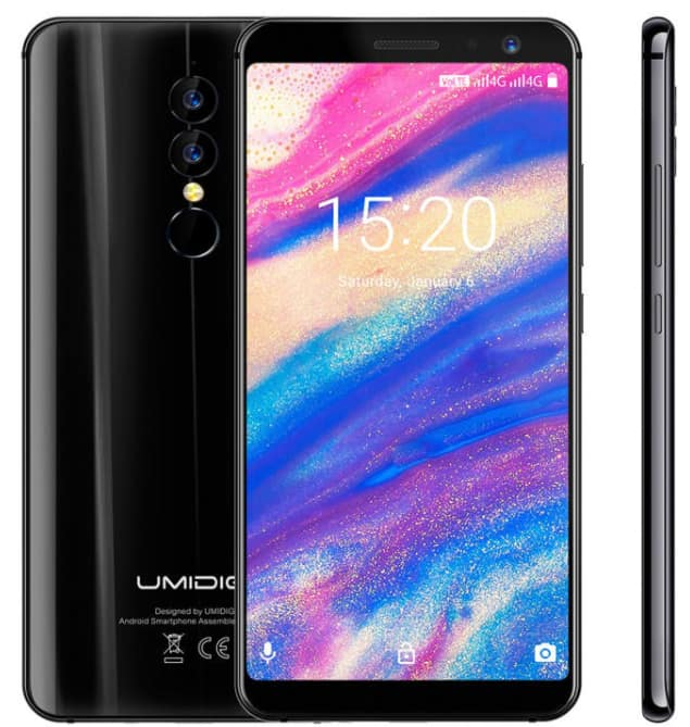 A1 Pro 5.5 Inch 18:9 Full Screen Android 8.1 3GB RAM 16GB ROM MTK6739 1.5GHz 4G Smartphone $99.99