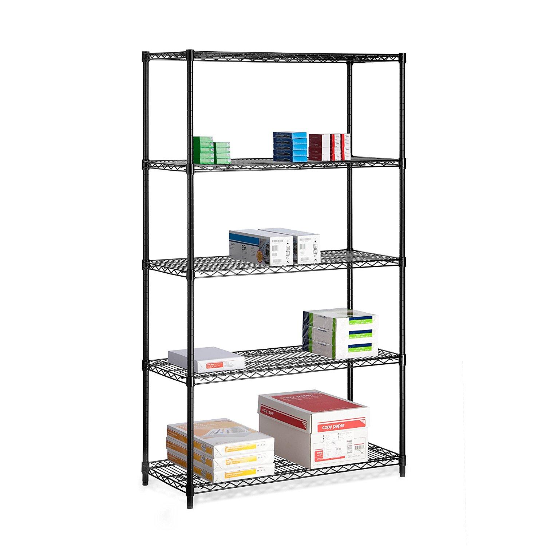 PRICE DROP! Honey-Can-Do 5 Shelf Adjustable Storage Shelving Unit 45% Off NOW $53.56