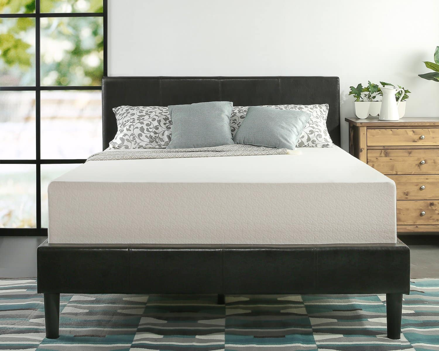 "Lowest ever prices on these Zinus memory foam 12"" green tea mattresses!"