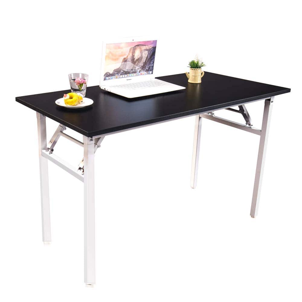 Halter Folding Computer Desk   Foldable Writing U0026amp; Study Table For Home  U0026amp; Office Use $67.99