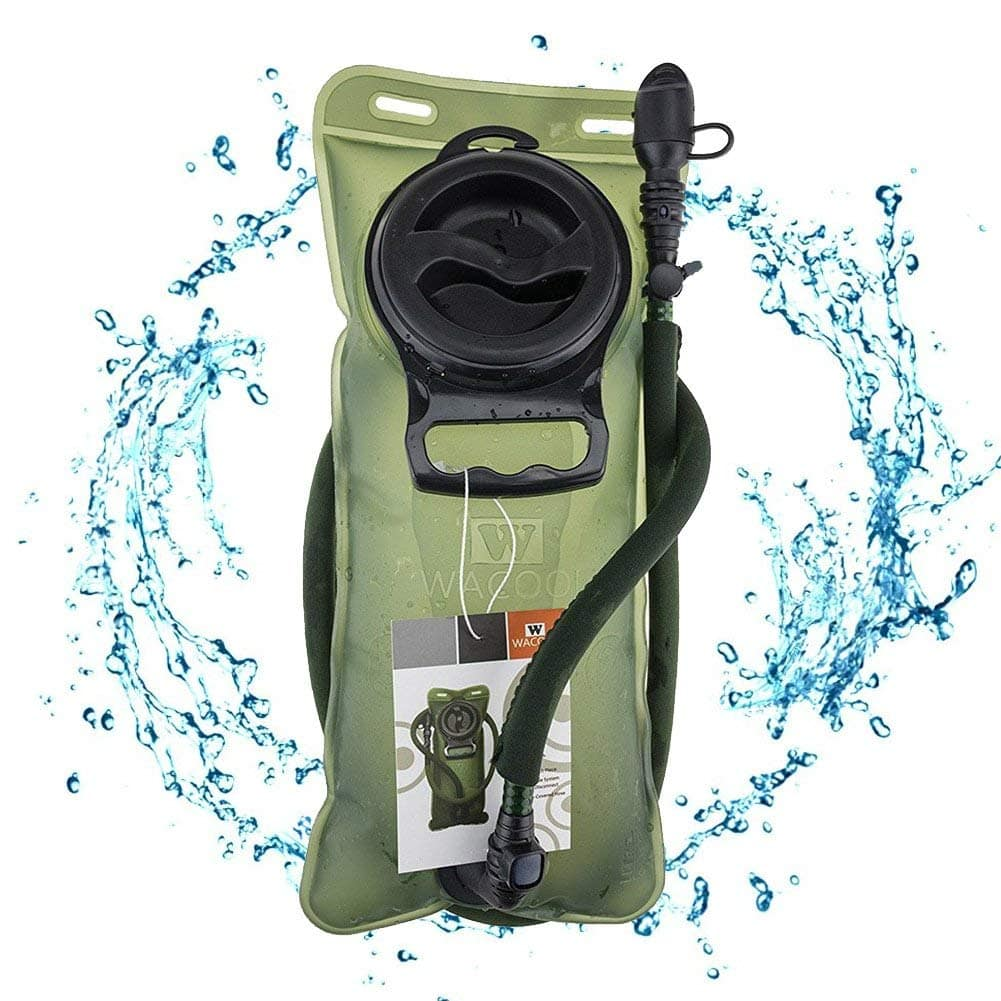 WACOOL 2-Liter (70-oz.) Hydration Pack Bladder for Running, Cycling, Hiking (Leak-Proof & BPA Free) $8.39 after 40% off