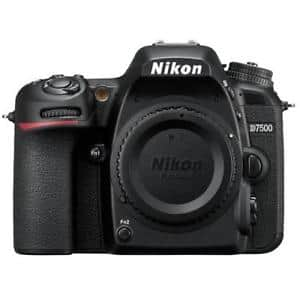 Nikon D7500 20.9MP DX-Format 4K Ultra HD DSLR Body $849 Refurb. Adorama, Warranty $850