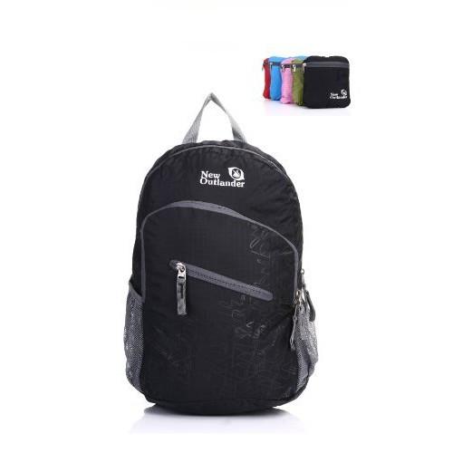 20% off 20L/33L- Most Durable Packable Lightweight Travel Hiking Backpack Daypack [Black, 20L] $13.46