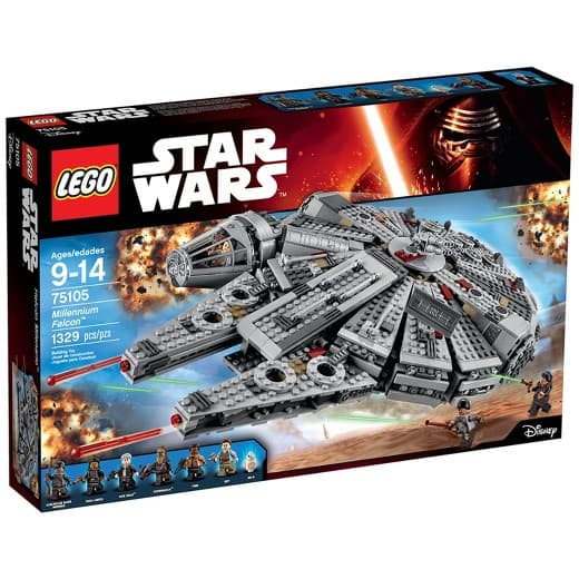 LEGO Star Wars Millennium Falcon 75105 at Target for $85.39. In-Store YMMV