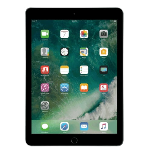 "[OB] Apple iPad 9.7"" 128GB Space Gray Wifi 5th Gen MP2H2LL/A 2017 Model $299.99"