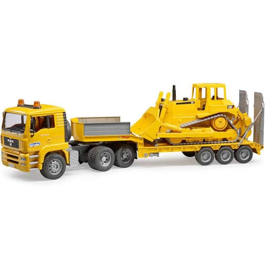 Bruder MAN TGA Loader Truck with CAT Bulldozer free shipping. Walmart