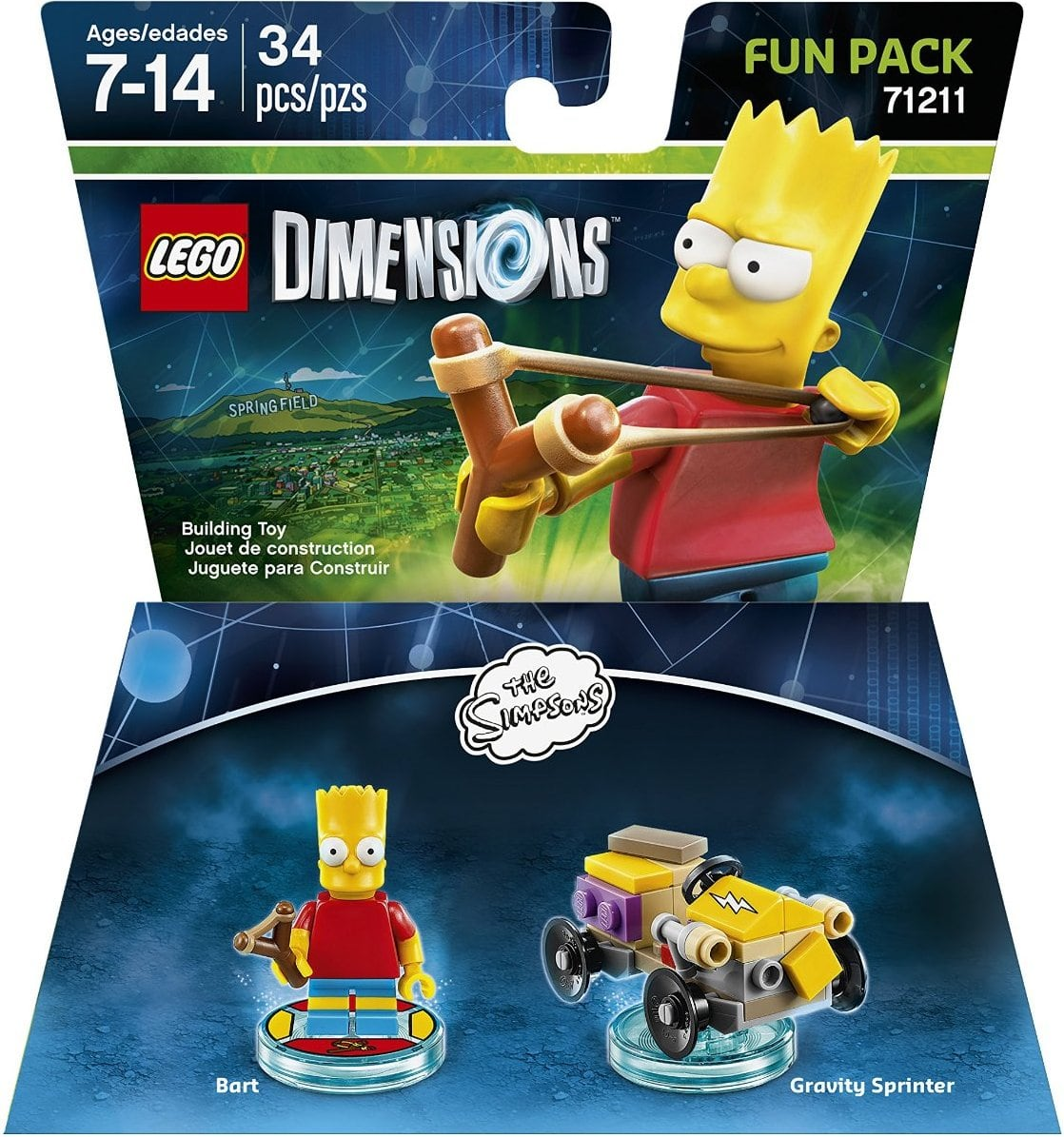 A few LEGO dimensions models 34-62 pcs each $1 @ 99c Only Stores ymmv (b&m CA NV TX AZ)