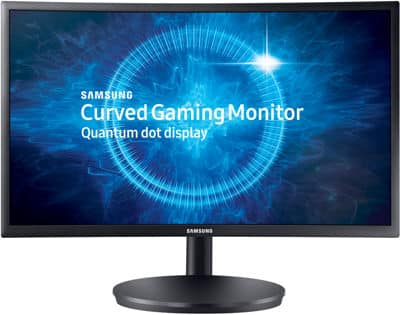 24in CFG70 Curved Gaming Monitor 1080p 144hz VA Vesa FreeSync Curved $299 - 100 Coupon Code $199.99
