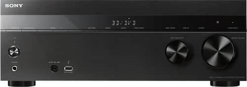 Sony - 725W 5.2-Ch. Full HD and 3D Pass-Through A/V Home Theater Receiver - Black