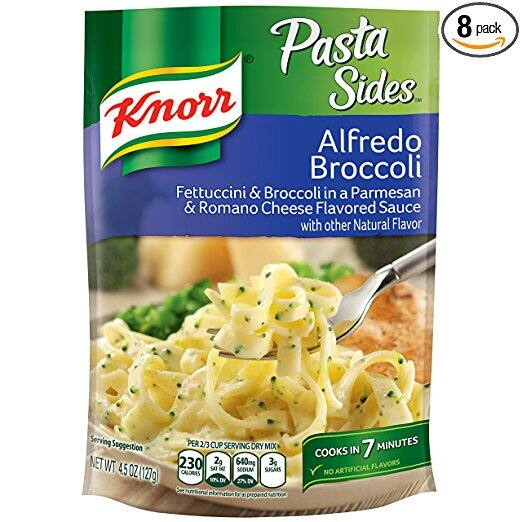 Pack of 8 - Knorr Pasta Sides Dish, Alfredo Broccoli, 4.5 Ounce $7.60 wS&S