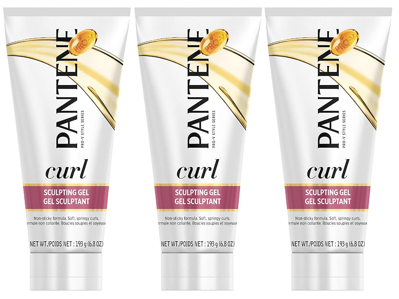 Addon - Pack of 3 Pantene Curl Perfection Sculpting Hair Gel 6.8 Oz (Pack of 3) $4