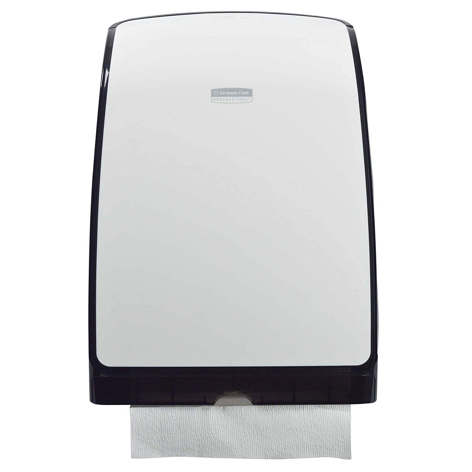"""Scott Control MOD Slimfold Folded Paper Towel Dispenser (34830), 9.83"""" x 2.8"""" x 13.67"""", Compact, One-at-a-Time Manual Dispensing, White 5.31 w/s&s"""