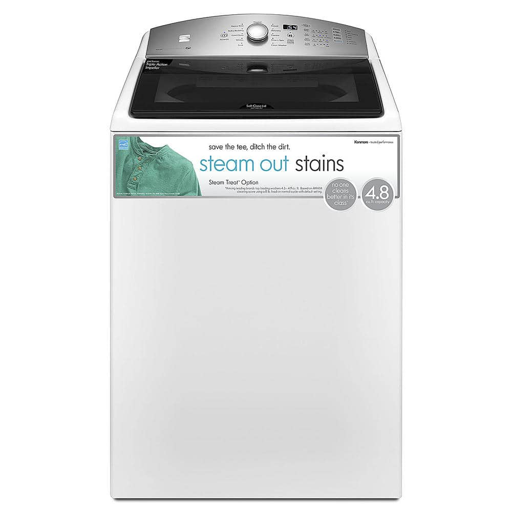 Kenmore 4.8-Cu. Ft. Top Load Washer for $644.99 at Sears