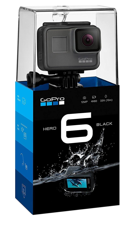 GoPro HERO6 BLACK 4K  HD ACTION CAMERA $329.65