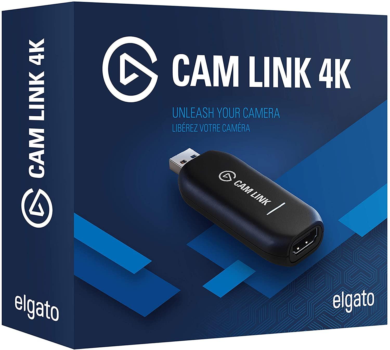 Elgato Camlink 4K (Amazon In Stock July 21) $129.99