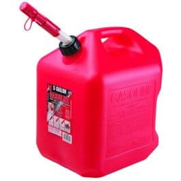 5 Gallon Auto Shutoff Gasoline Can $11.99
