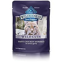 Amazon Deal: 24 Pack Blue Buffalo  Wilderness High Protein Canned Wet Cat Food Subscribe and save Price $2.17 or less