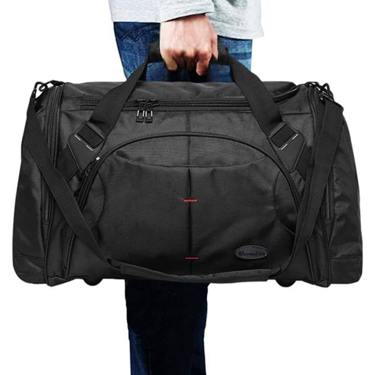 6f83671a8f Men s Duffel Travel Weekender Luggage Tote 80% OFF+Free shipping  8.99