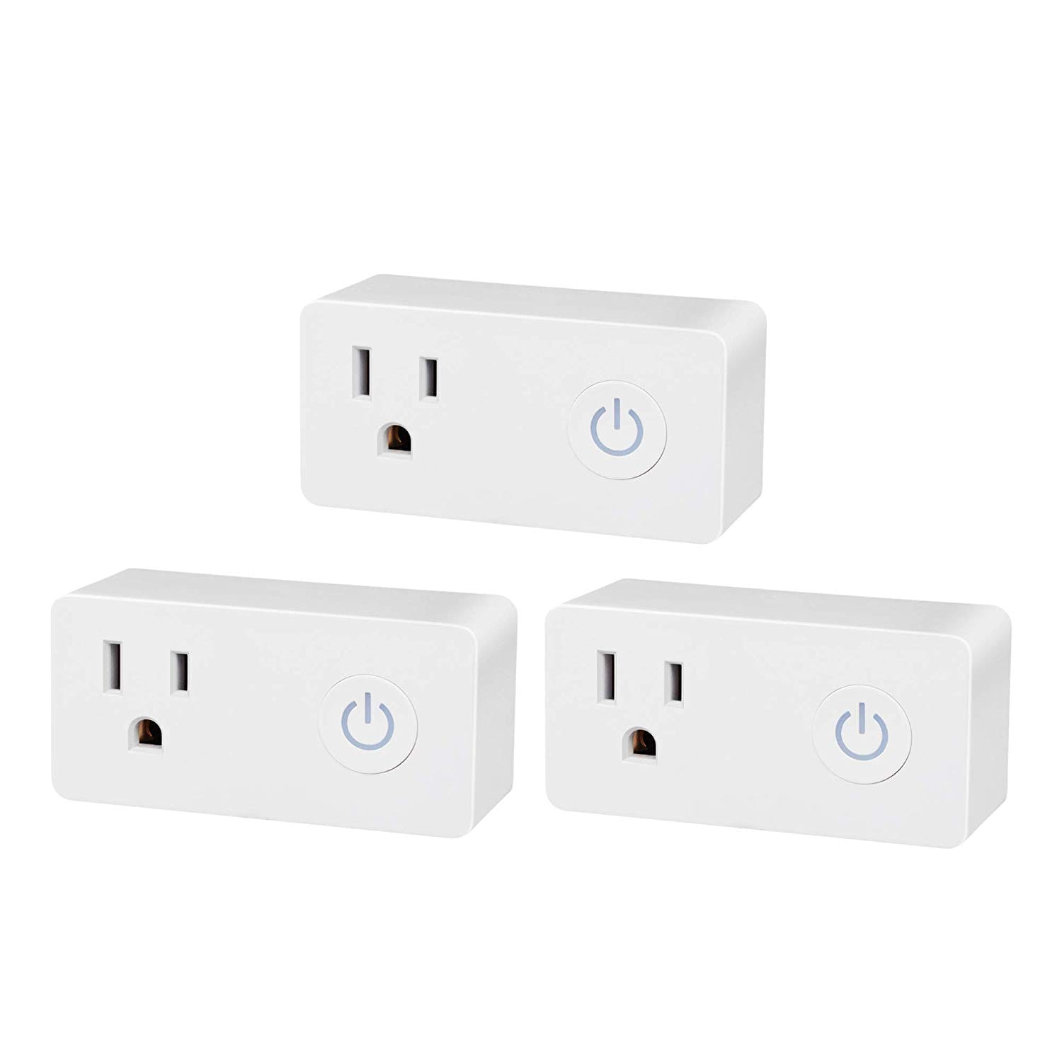 3-Pk BN-Link Smart Wi-Fi Outlet, Hubless w/ Energy Monitoring
