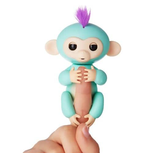 Fingerlings - Interactive Baby Monkey - Zoe (Turquoise with Purple Hair) $14.99