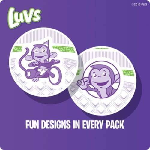 Luvs Super Absorbent Leakguards Diapers Rollback $17.77