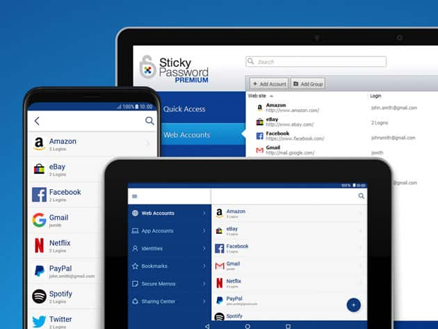 Sticky Password $19.99 LIFETIME Subscription and $5.00 off using PayPal = $14.99