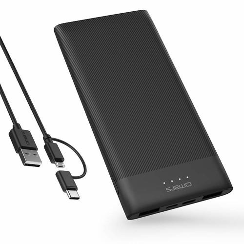 Power Bank 10000mAh USB C Slimline Portable Charger $12.79