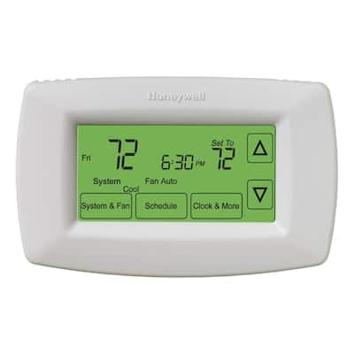 Honeywell 7-Day Touch Screen Programmable Thermostat $4.81
