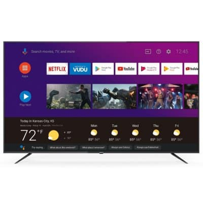 "Philips 75"" 4K UHD HDR Smart Android TV - $599"