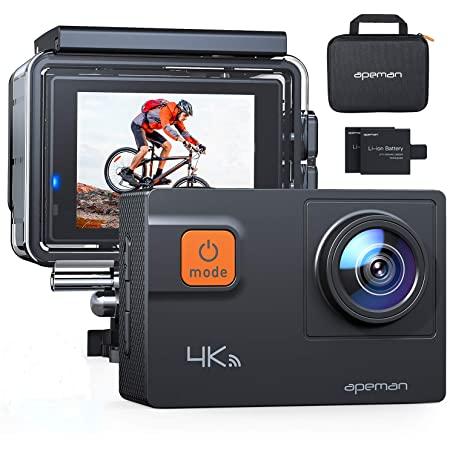 Waterproof Action Camera 4K 20MP $44.99
