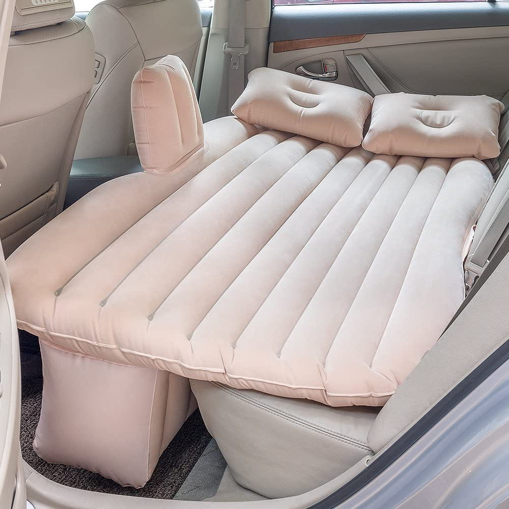 Inflatable Mattress for car with Motor Pump + Two Pillows $25