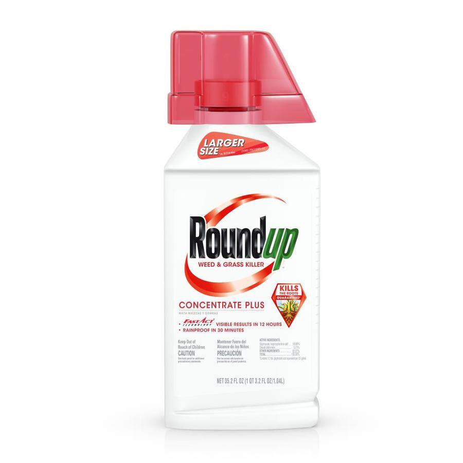 BUY a Roundup® 35.2-fl oz Weed & Grass Killer Plus (952607) and GET Roundup 1-Gallon Tank Sprayer (285868) FREE. Free item automatically added to cart. Offer Ends 5/22/19