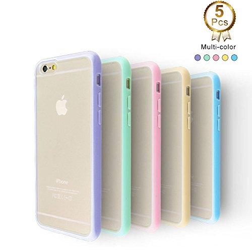 5 pc iphone 6/6s case $6.99 AC - Amazon