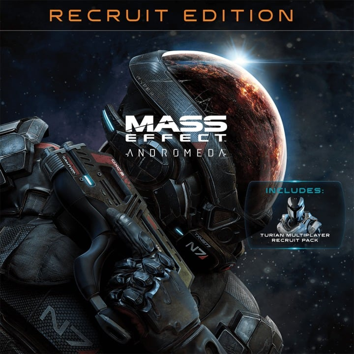 Mass Effect™: Andromeda – Recruit Edition (PS4 Digital Download) - Standard $9.89, Deluxe $13.19