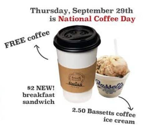 09/29 National Coffee Day