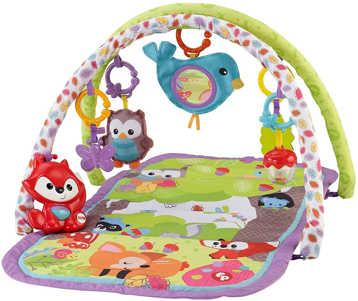 Fisher-Price Woodland Friends 3-in-1 Musical Activity Gym - $19.99 @Amazon