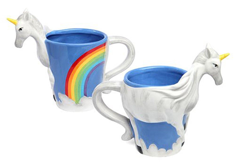 ThinkGeek 3D Unicorn Mug - $10.98 @Amazon